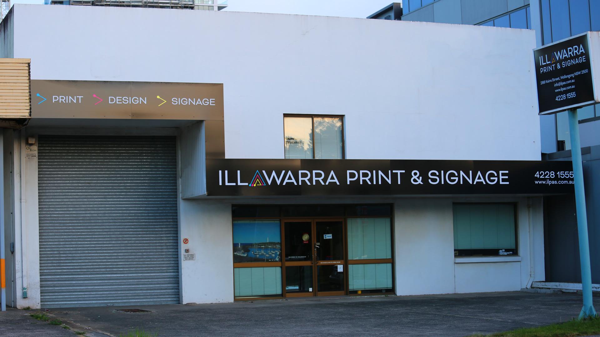 Illawarra Print and Signage Shopfront
